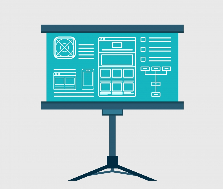 Wireframing and UI/UX design